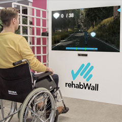 rehabWall reaction wall supplied by Axtion Technology