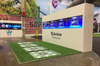 4-Active multiplayer interactive game system in activity park